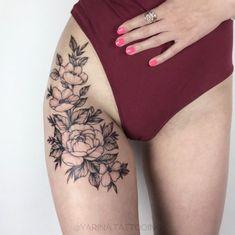 Tattoos 75 Fotos von weiblichen Tätowierungen auf dem Arm Fotos 75 Bil… Tatuagem de flor na perna - Trendy Tattoos, Sexy Tattoos, Body Art Tattoos, Girl Tattoos, Small Tattoos, Sleeve Tattoos, Tattoos For Women, Upper Leg Tattoos, Tattos