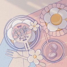 Cute Pastel Wallpaper, Anime Scenery Wallpaper, Aesthetic Pastel Wallpaper, Kawaii Wallpaper, Aesthetic Drawing, Aesthetic Art, Aesthetic Anime, Japon Illustration, Cute Illustration