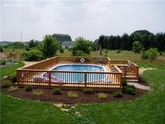 pictures of above ground pools with decks | Above Ground Pool Deck Designs: The Ideas for your Best Style: Fresh ...