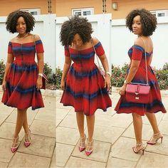 2018 Hot Sale New Fashion Design Traditional African Clothing Print Dashiki Nice Neck African Dresses for Women African Inspired Fashion, African Dresses For Women, African Print Dresses, African Print Fashion, Africa Fashion, African Attire, African Wear, African Fashion Dresses, African Women