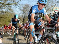 2012 Gent-Wevelgem, Johan Van Summeren suffering on the Kemmelberg Uci World Tour, Pro Cycling, Biking, Photo Galleries, Bicycle, Van, Tours, Gallery, Bike