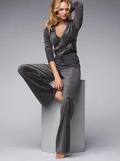 Velour Classic Pant - Victoria's Secret  http://www.victoriassecret.com/clothing/yoga-and-lounge-pants/velour-classic-pant?ProductID=9859=OLS#