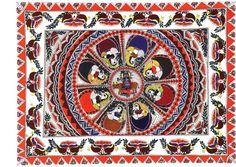 madhubani painting-krishna raas-leela photo ban75.jpg