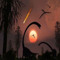 Тъмната материя е убила динозаврите на Земята