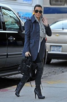 Get your Report Signature boots , as seen on Kim Kardashian