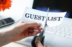 Checking it off the list! How to cut the guest list for a budget-friendly wedding