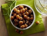 Crispy Roasted Chick Peas