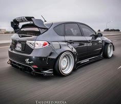 FastLane ★ https://www.facebook.com/fastlanetees   The place for JDM Tees, pics, vids, memes & More  Widebody Subaru Impreza