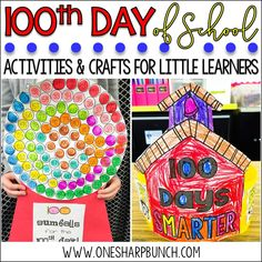 Celebrate the Day of school with these engaging Day of School ideas. sure to have your kiddos begging for more Day of Kindergarten fun! Check out how this teacher adapted the Day of school gumball machine to support her kindergarten students! Name Activities, Activities For Kids, Motor Activities, Kid Activites, Weather Activities, Beach Activities, Creative Activities, Preschool Ideas, 100 Days Of School