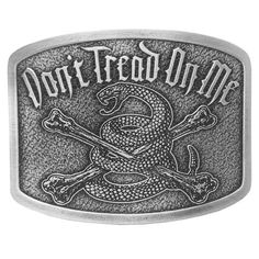 01da2bfd58bb Buy Dont Tread On Me Brand  quot War Cry quot  Vintage Belt Buckle DTOM  Accessories - Topvintagestyle.com ✓ FREE DELIVERY possible on eligible  purchases