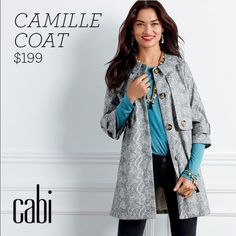Limited Edition Fall 2015 Cabi Camille Coat Authentic Cabi Limited Edition Fall 2015 Camille Coat! Size Small and never worn! Price is negotiable! CAbi Jackets & Coats Trench Coats