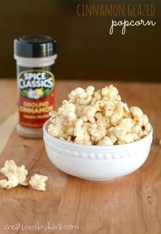 Glazed Popcorn Recipe, Popcorn Recipes, Flavored Popcorn, Gourmet Recipes, Appetizer Recipes, Snack Recipes, Dessert Recipes, Appetizers, Easy Recipes
