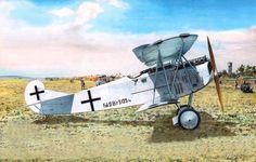 Fokker D.VII Hermann Göring, by Taras Shtyk