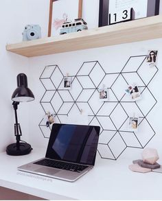 All Details You Need to Know About Home Decoration - Modern Study Room Decor, Cute Room Decor, Teen Room Decor, Room Decor Bedroom, Home Office Design, Home Office Decor, Home Decor, Dream Decor, New Room