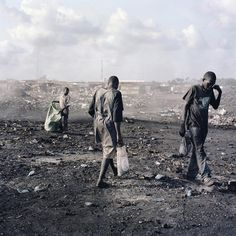Untitled, Agbogbloshie Market, Accra, Ghana, 2010. From the series Permanent Error. © Pieter Hugo, Courtesy Yossi Milo Gallery, New York and Stevenson Gallery, Cape Town