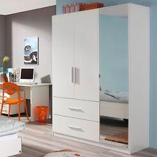 Great Kleiderschrank Hochglanz Kinderzimmer Jugendzimmer Dreht renschrank Schrank Wei