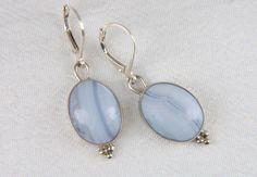 Gemstone Earrings  Artisan Jewelry  Drop Earrings  by LouiseLeder, $110.00