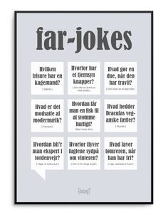Far Jokes plakat Funny Quotes For Kids, Funny Kids, Dad Jokes, Funny Jokes, Gym Memes, One Liner, True Words, Poetry Quotes, Family Quotes
