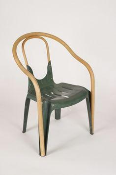 Renovar una vieja silla de plástico/ Renew an old plastic chair  #recycle design