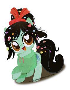 My Little Pony: Vanellope Von Schweetz