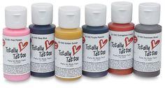 Tattoo airbrush paint