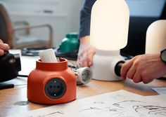 Plug Lamp, a lamp with an electrical socket
