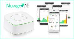Nuvap N1 und N1R – Umwelt-Monitoring für die smarten vier Wände  Mit Nuvap N1 (ca. 600€) und Nuvap N1R wird die Luft in den vier Wänden auf Schadstoffe geprüft, Strahlung wahrgenommen und das Wasser analysiert.  #smarthome #tech #smarttech #connected #gadgets #gesundheit #smart #gadget
