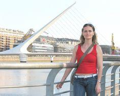 Puente de la Mujer -- Buenos Aires