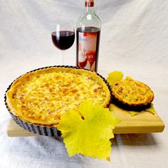 Fränkischer Zwiebelkuchen mit Speck (Quark-Ölteig)