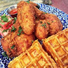 """christine • NYC food + travel on Instagram: """"current craving: @ybsouthern's incredible fried chicken  & waffle! #Miami #CYCheats #brunch"""""""