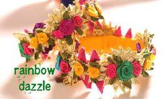 Gota flower bangles
