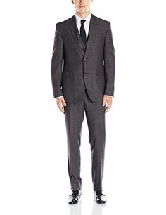 """This Perry Ellis suit is made of high quality fabric which allows for comfort and ease of movement. The fit is updated and the styling is classic yet fun. It would be a great addition to any wardrobe.       Famous Words of Inspiration...""""Happiness and moral duty are...  More details at https://jackets-lovers.bestselleroutlets.com/mens-jackets-coats/suits-sport-coats/suits/product-review-for-perry-ellis-mens-two-button-vested-slim-fit-suit/"""
