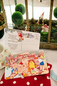 Party Paperie for The Magic Faraway Tree party