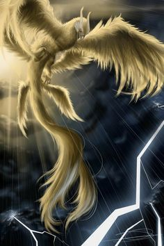 Mythical Birds, Mythical Creatures Art, Magical Creatures, Fantasy Creatures, Phoenix Artwork, Dragon Artwork, Beast Wallpaper, Mystical Animals, Arte Sailor Moon