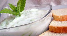 Tzatziki saláta recept Hungarian Recipes, Food To Make, Dips, Grilling, Food Porn, Pudding, Eat, Desserts, Sauces