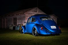 '63 Rag-top Bug with 2.0L Subaru Turbo - This Bug goes fast!