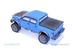 New papercruiser model: Ford Raptor SVT  | papercruiser.com