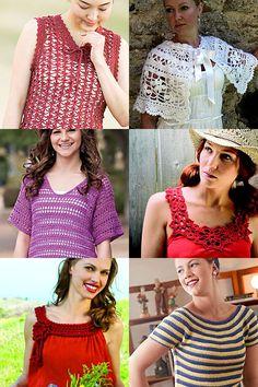 Summer Crochet Patterns for Women | Crochet Tank | Crochet Tee