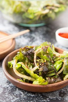 Sangchu Geotjeori (Korean Lettuce Salad) is theeasiest andtastiest side dish foryour grilled meat! Savory, sweet, little spicy! Toss together in just 10 minutes. I have to admit salad is not my favorite food. I like vegetables, but mostly cooked ones, like steamed bak choi, sautéed green beans, and stir-fry snow peas. Growing up, I don't...Read More »