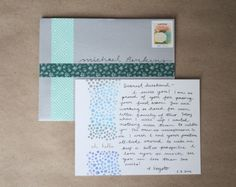 Harley and Jane: simple ways to address envelopes #labels #tinyprints #DIY