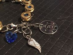 The Castiel Winchester Bullet Casing Bracelet by NevenEbrez