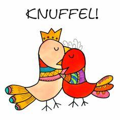 Vogel Knuffel - Ansichtkaarten - Kaartje2go Via Kaartje2go zijn diverse Droomvallei kaarten te bestellen. Onder andere deze knuffelkaart, een aanrader voor zowel volwassenen als kinderen. Daar word je vrolijk van!  http://www.kaartje2go.nl/ansichtkaarten/vogel-knuffel