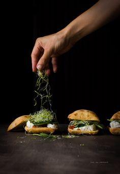 Camembert and Tomato Jam Sandwich, Camembert and Tomato Jam, Bocadillo de…