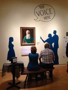 It's unbelievably cool to see visitors interact with our exhibit.