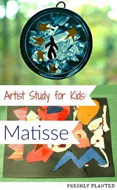Artist Study for Kids: Matisse