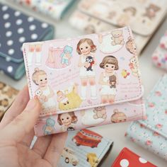 paper doll wallet