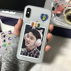 Pin by lillie on phone case ideas in 2019 exo phone case, kpop phone Exo Phone Case, Kpop Phone Cases, Phone Covers, Iphone Cases, Phone Screen Wallpaper, Bts Wallpaper, Cute Journals, Aesthetic Phone Case, Kpop Merch