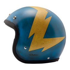 DMD Vintage Helmet - Thor | Open Face Motorcycle Helmets | FREE UK delivery - The Cafe Racer