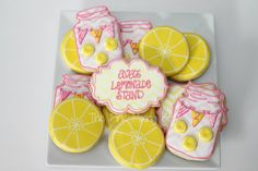 Pink Lemonade cookies by The Pink Mixing Bowl!