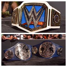The new Smackdown Championships.